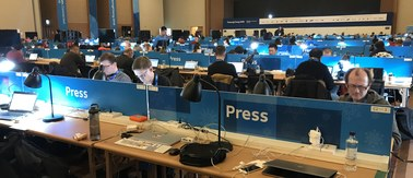 Pjongczang: Tak wygląda główne biuro prasowe igrzysk olimpijskich!