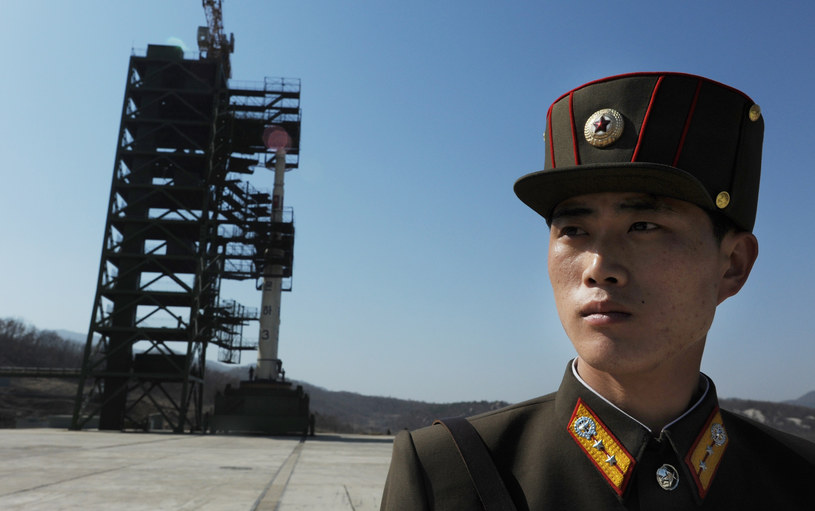 Pjongjang twierdzi, że przygotowywany start ma mieć charakter całkowicie pokojowy. /AFP