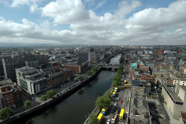 PKB Irlandii okazał się mniejszy niż oczekiwano. Nz. Dublin /©123RF/PICSEL