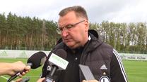 PKO BP Ekstraklasa. Legia-Raków. Czesław Michniewicz: Będziemy musieli sobie z tym poradzić. Wideo