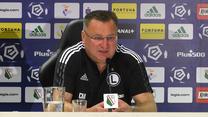 PKO BP Ekstraklasa. Legia Warszawa. Czesław Michniewicz: Nie chcę narzekać na swój los. Wideo