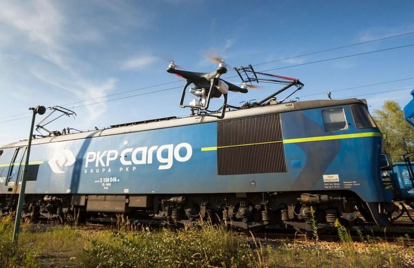 PKP CARGO wykorzystuje drony do zabezpieczania transportów i patrolowania terenów kolejowych /materiały prasowe