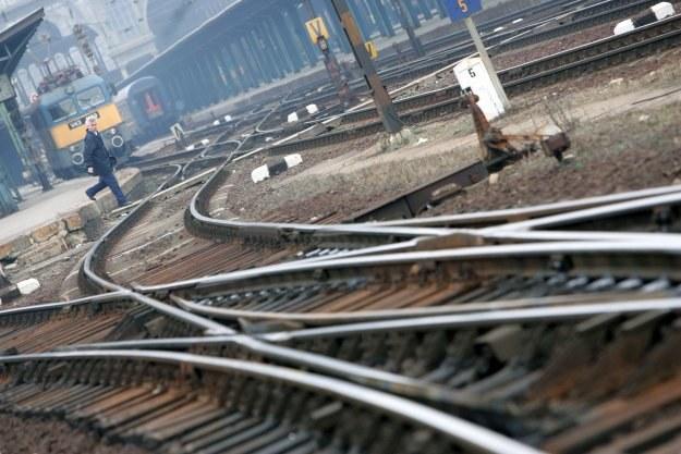 PKP Polskie Linie Kolejowe to spółka odpowiedzialna za zarządzanie torami /AFP