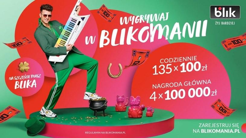 Płać BLIKIEM i wygrywaj w loterii BLIKOMANIA. Do wygrania ponad 2 mln złotych /Geekweek