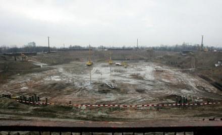Plac budowy Stadionu Narodowego w Warszawie. Fot. Marek Zieliński. /Agencja Przegląd Sportowy