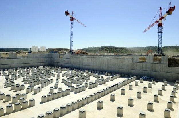 Plac budowy /AFP