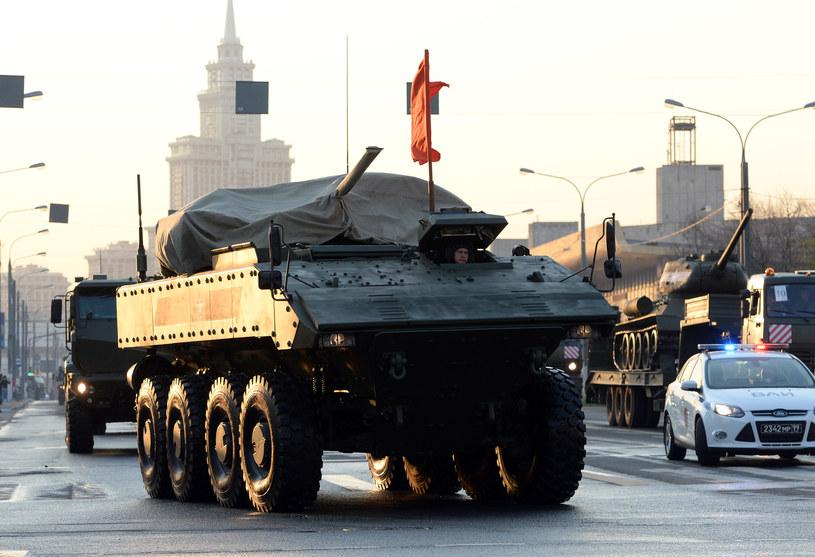 Plac Czerwony, Moskwa: Rosja pręży muskuły /Kirill Kudryavtsev /AFP