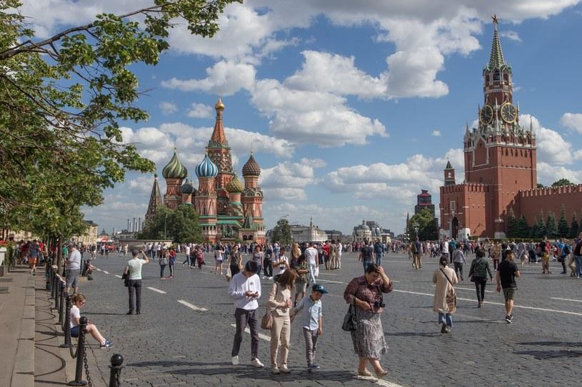Plac Czerwony w Moskwie /Tomasz Jastrzębowski /Reporter