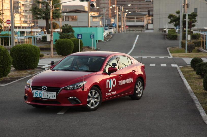 Plac manewrowy w japońskiej szkole nauki jazdy /INTERIA.PL