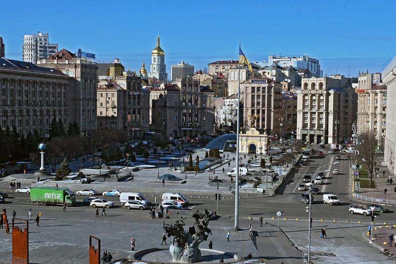 Plac Niepodległości w Kijowie /Wojtek Laski /East News