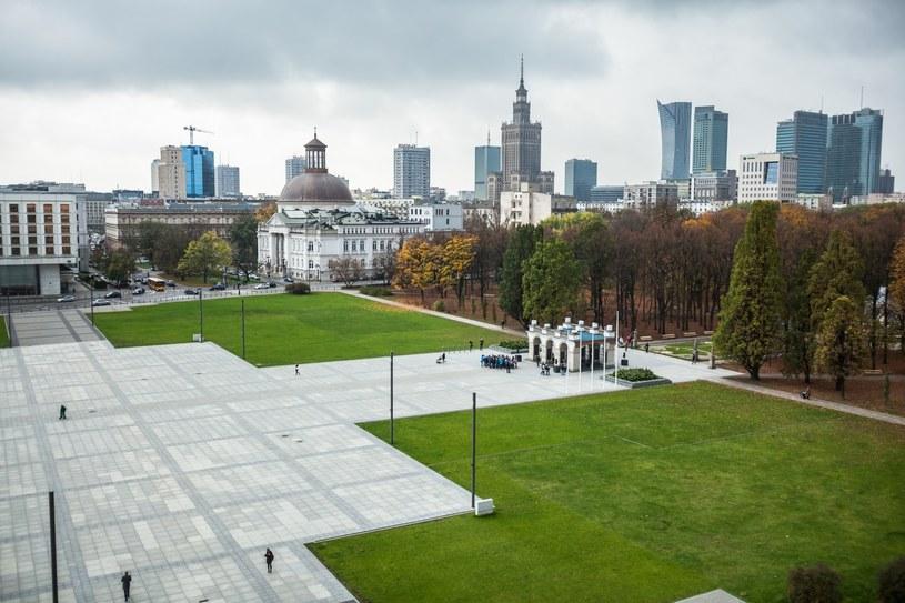 Plac Piłsudskiego w Warszawie /Adam Burakowski/REPORTER /Reporter