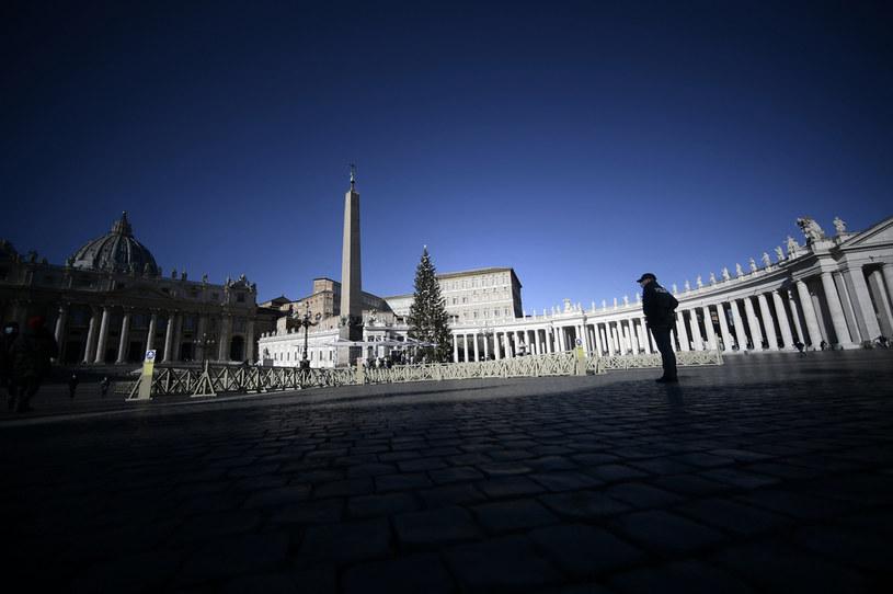 Plac św. Piotra, zdjęcie ilustracyjne /FILIPPO MONTEFORTE / AFP /AFP