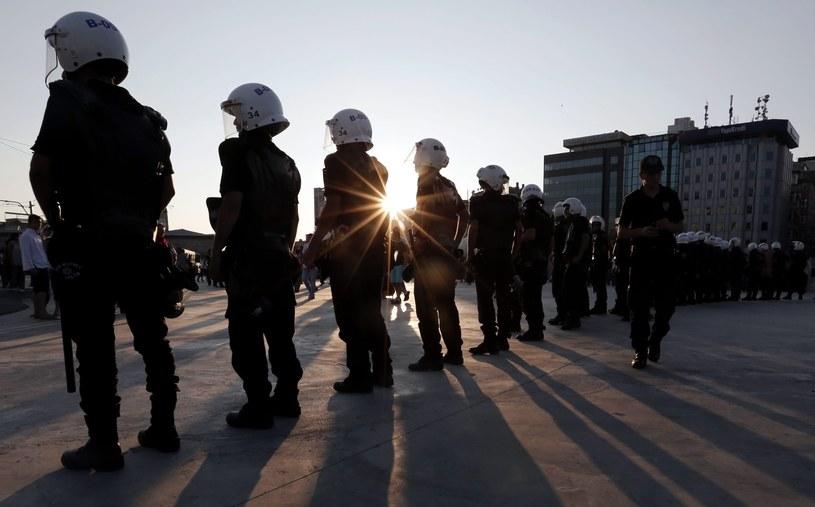 Plac Taksim w Stambule znów niespokojny. /AFP
