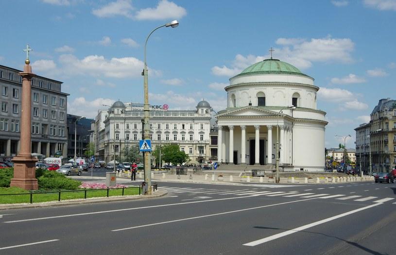 Plac Trzech Krzyży w Warszawie /Marek Bazak /East News