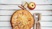 Placek drożdżowo-serowy z jabłecznym wierzchem