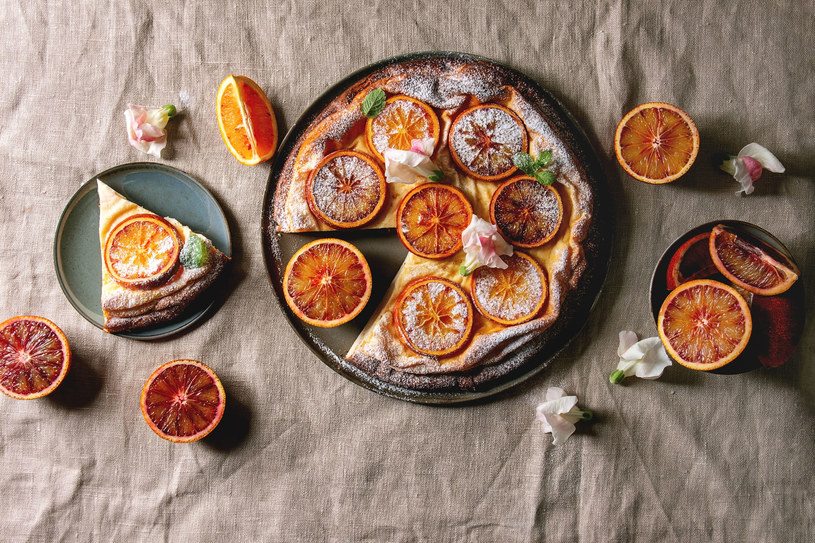 Placek podwójnie pomarańczowy /123RF/PICSEL