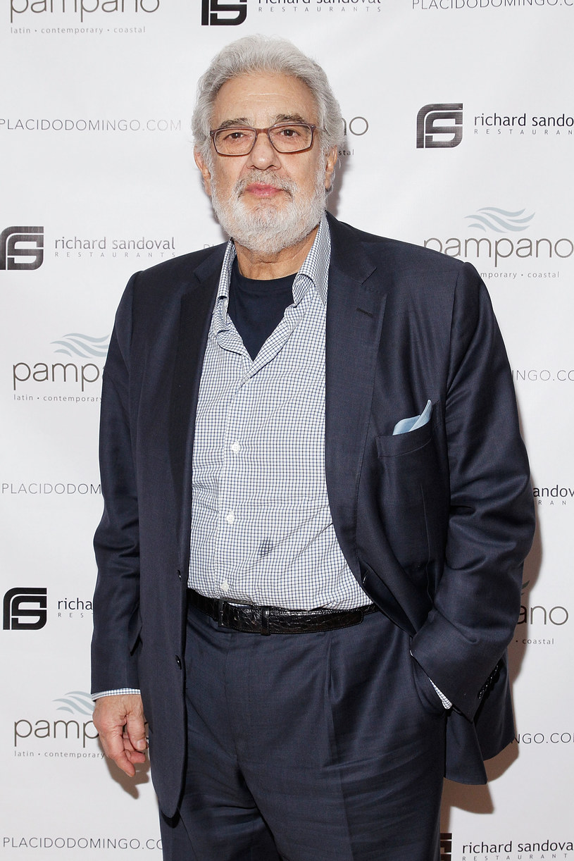 Placido Domingo /- /Getty Images