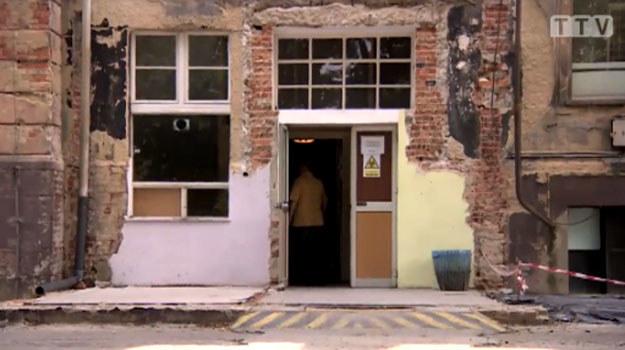 Placówka była zamknięta na noc. /TVN24/x-news