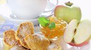Placuszki maślankowe z jabłkami