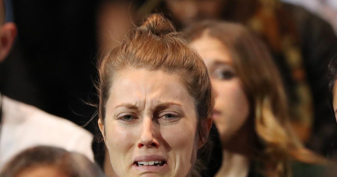 Płacz i rozpacz w sztabie Hillary Clinton