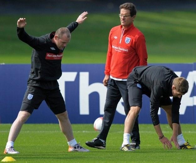 Plaga kontuzji dotknęła reprezentację Anglii /AFP