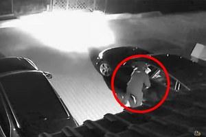 """Plaga kradzieży pojazdów metodą """"na walizkę"""".  To audi zniknęło w minutę"""