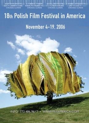 Plakat 18. edycji Festiwalu Filmu Polskiego w Ameryce /