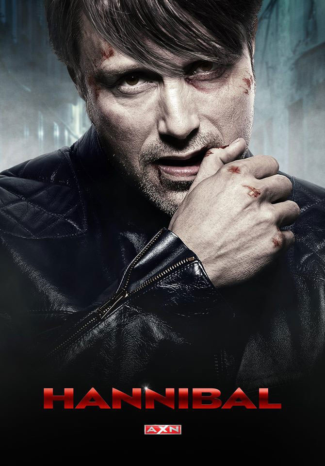 """Plakat 3. sezonu """"Hannibala"""" /AXN"""