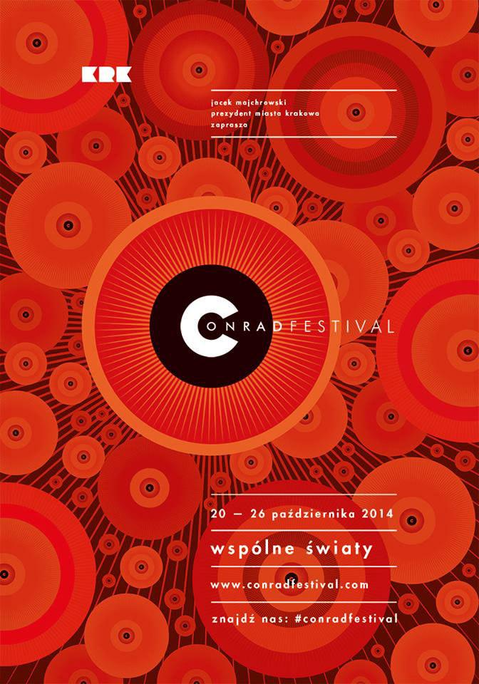 Plakat 6. edycji Festiwalu Conrada /Styl.pl/materiały prasowe