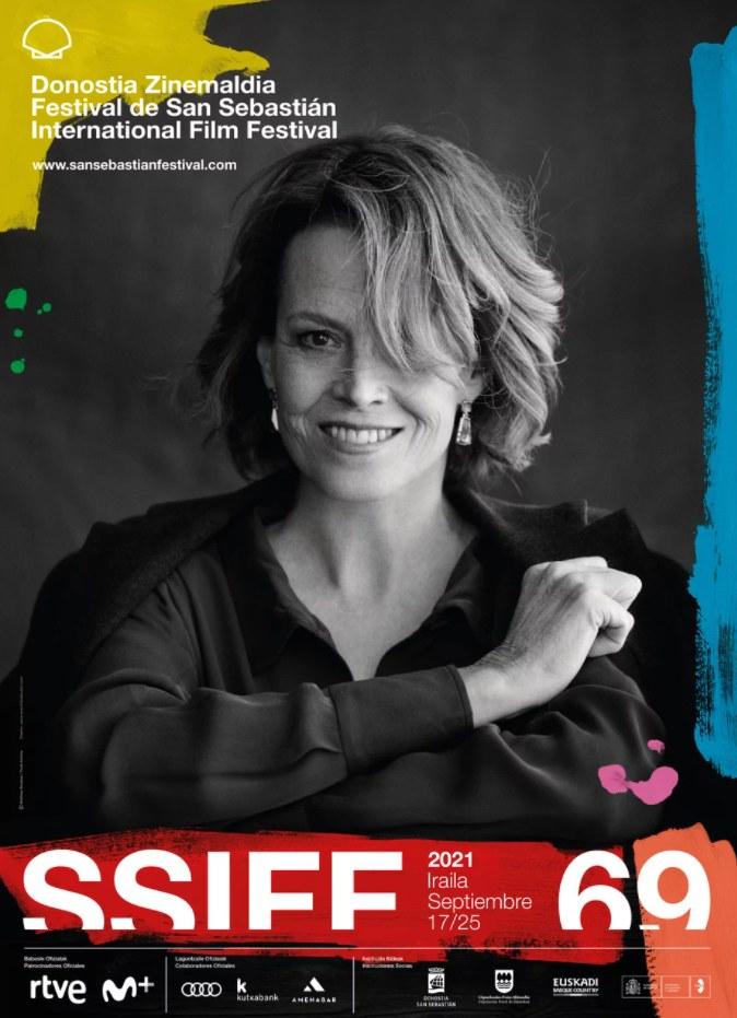 Plakat 69. Międzynarodowego Festiwalu Filmowego w San Sebastian /materiały prasowe