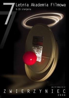 Plakat 7. Letniej Akademii Filmowej/źródło: oficjalna strona LAF /