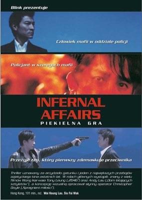 """Plakat azjatyckiego """"Infernal Affairs"""" /"""