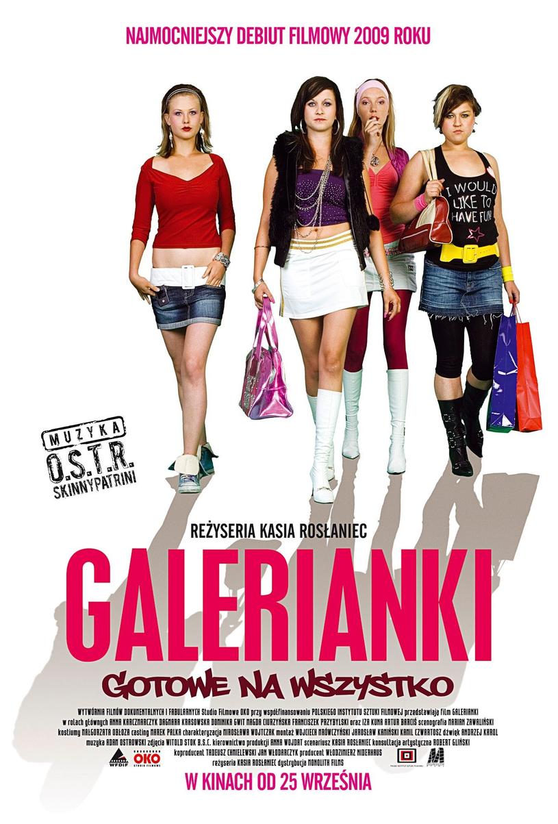 "Plakat do filmu ""Galerianki"" /Everett Collection /East News"