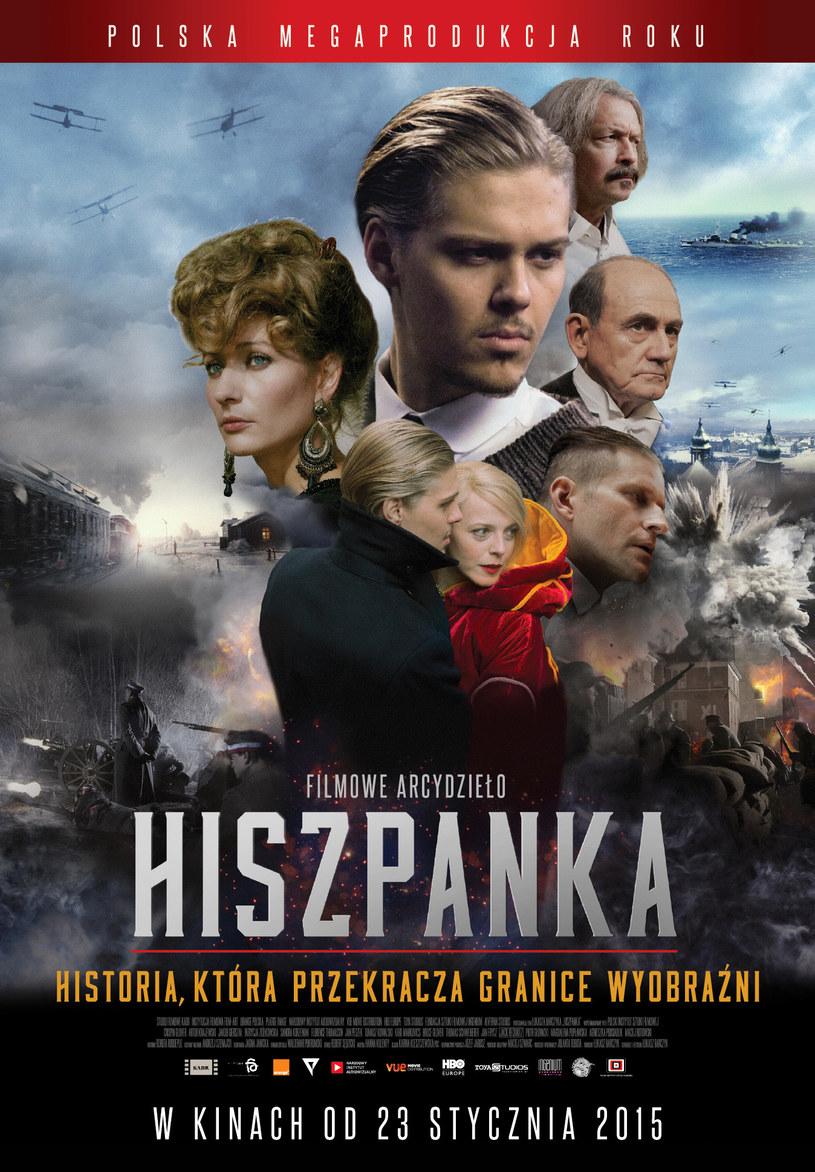 """Plakat do filmu """"Hiszpanka"""" /materiały dystrybutora"""