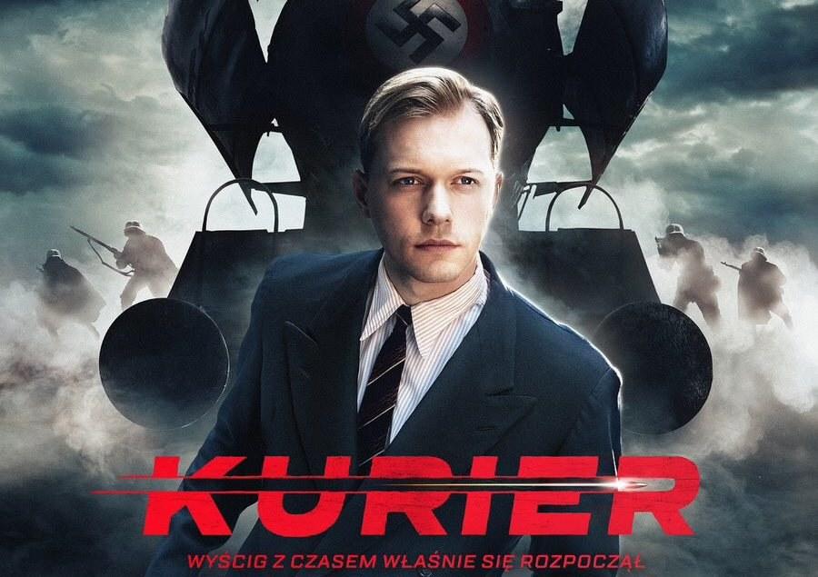 """Plakat do filmu """"Kurier"""" /materiały prasowe /"""