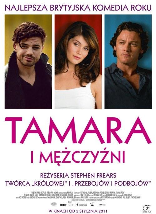 """Plakat do filmu """"Tamara i mężczyźni"""" /  - /materiały prasowe"""