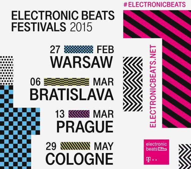 Plakat Eletronic Beats /materiały prasowe
