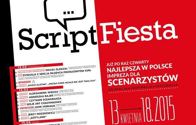 Plakat festiwalu Script Fiesta /materiały prasowe