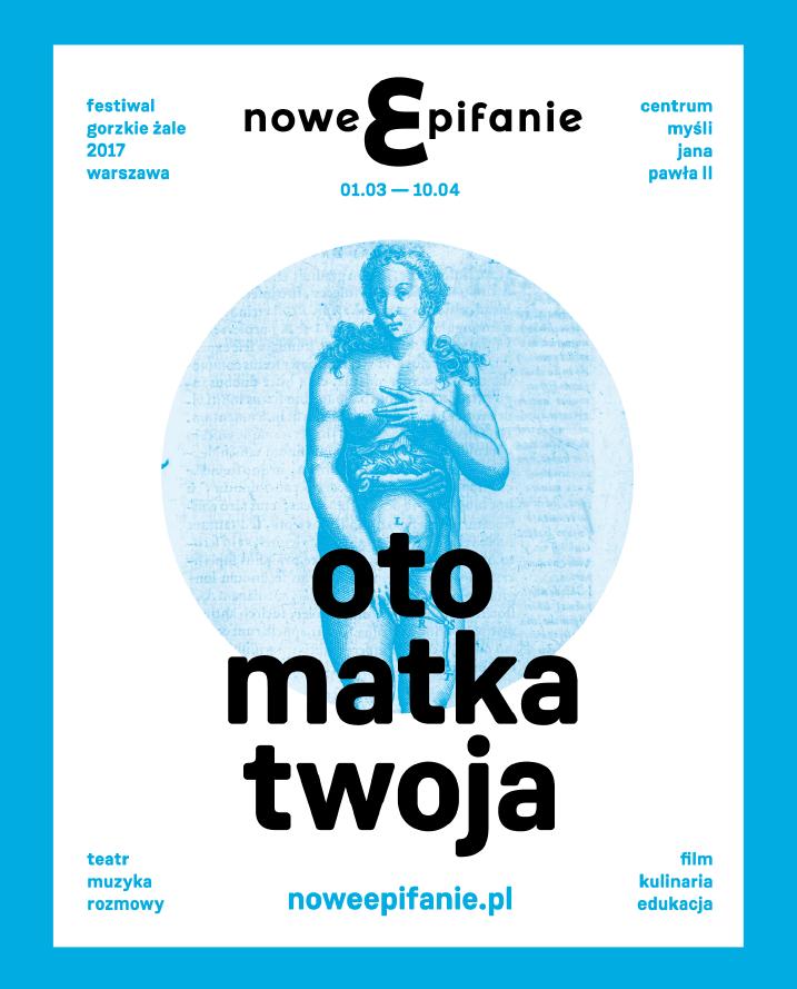 Plakat festiwalu /http://noweepifanie.pl /Materiały prasowe