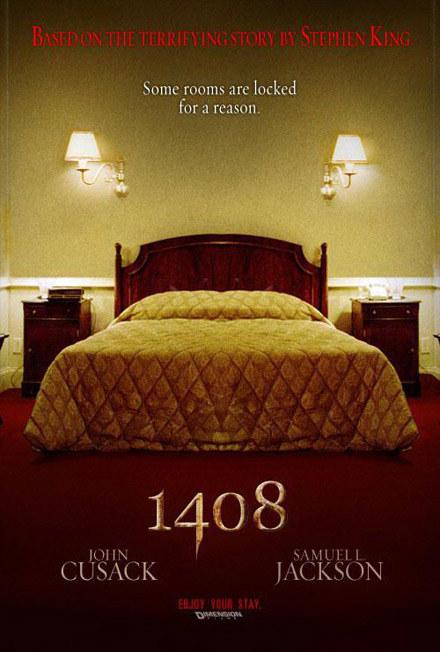 """Plakat filmu """"1408"""" /"""