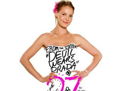 """Plakat filmu """"27 sukienek"""" /"""