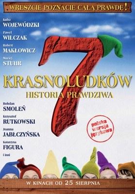 """Plakat filmu """"7 krasnoludków - historia prawdziwa"""" /"""