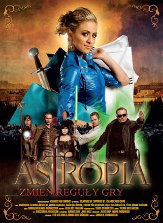 "Plakat filmu ""Astropia"" /materiały dystrybutora"