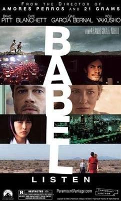 "Plakat filmu ""Babel"" /INTERIA.PL"