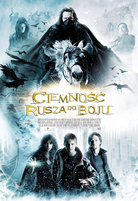 "Plakat filmu ""Ciemność rusza do boju"" /"