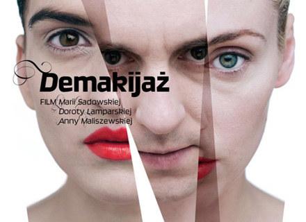 "Plakat filmu ""Demakijaż"" /materiały dystrybutora"