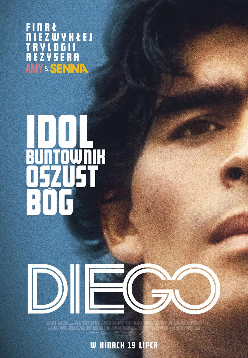 """Plakat filmu """"Diego"""" /materiały dystrybutora"""