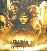 """Plakat filmu """"Drużyna Pierścienia"""" /"""