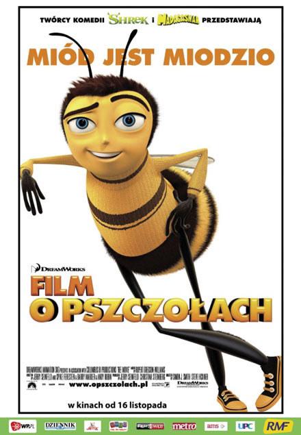 "Plakat filmu ""Film o pszczołach"" /"