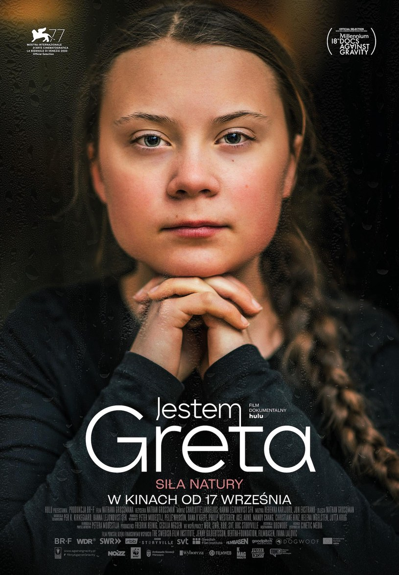"Plakat filmu ""Jestem Greta"" /materiały prasowe"